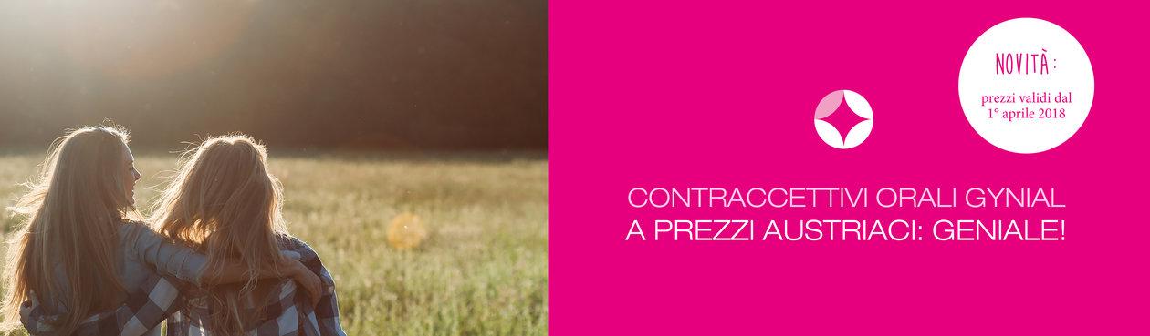 contraccettivi orali Gynial  a prezzi austriaci: geniale!
